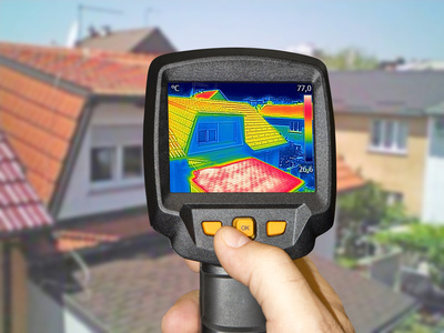 thermal imaging tool energy efficiency heat leakage